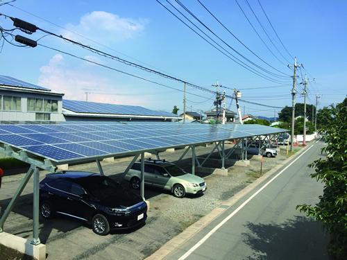 面向停车场的solar系统